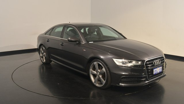 Used Audi A6 4G S tronic quattro, 2012 Audi A6 4G S tronic quattro Black 7 Speed Sports Automatic Dual Clutch Sedan