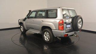 2013 Nissan Patrol Y61 GU 8 ST Grey 4 Speed Automatic Wagon.