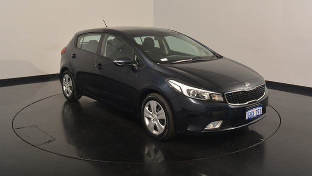 Used Kia Cerato YD MY18 S, 2017 Kia Cerato YD MY18 S Gravity Blue 6 Speed Sports Automatic Hatchback