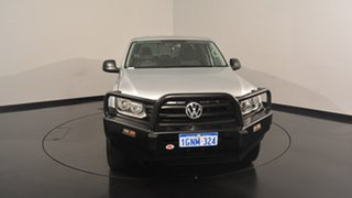 2012 Volkswagen Amarok 2H MY12 TDI400 4Mot Silver 6 Speed Manual Utility