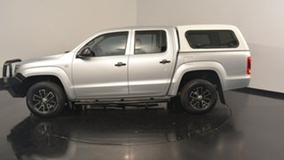 2012 Volkswagen Amarok 2H MY12 TDI400 4Mot Silver 6 Speed Manual Utility.