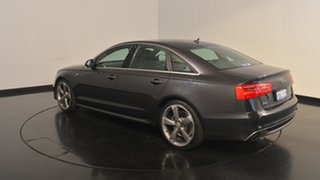 2012 Audi A6 4G S tronic quattro Black 7 Speed Sports Automatic Dual Clutch Sedan.