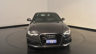2012 Audi A6 4G S tronic quattro Black 7 Speed Sports Automatic Dual Clutch Sedan
