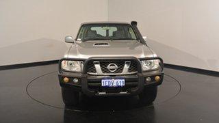 2013 Nissan Patrol Y61 GU 8 ST Grey 4 Speed Automatic Wagon
