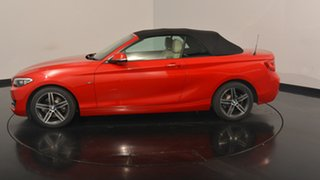 2015 BMW 220i F23 Sport Line Red 8 Speed Sports Automatic Convertible.