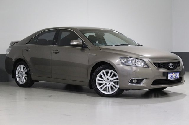 Used Toyota Aurion GSV40R 09 Upgrade Touring SE, 2011 Toyota Aurion GSV40R 09 Upgrade Touring SE Bronze 6 Speed Auto Sequential Sedan