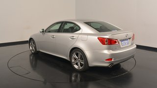 2013 Lexus IS250 GSE20R MY13 X Silver 6 Speed Sports Automatic Sedan.