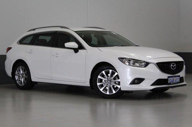 Used Mazda 6 6C MY15 Sport, 2016 Mazda 6 6C MY15 Sport White 6 Speed Automatic Wagon