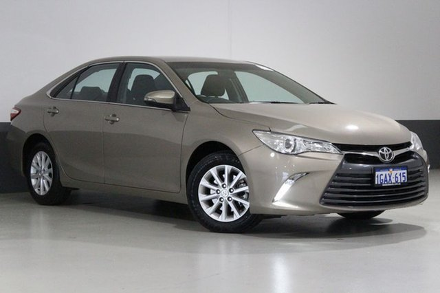 Used Toyota Camry ASV50R MY15 Altise, 2016 Toyota Camry ASV50R MY15 Altise Beige 6 Speed Automatic Sedan