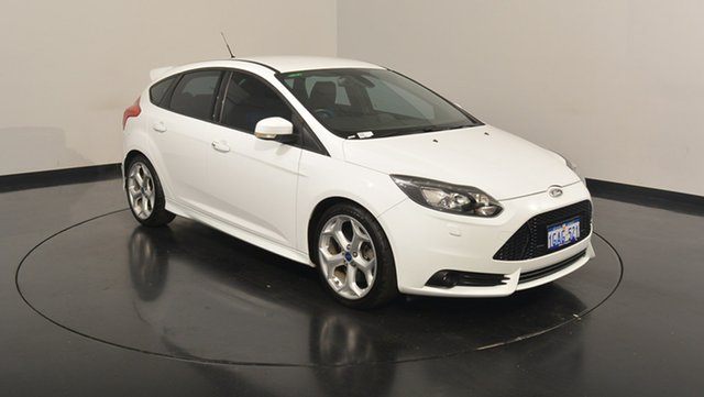 Used Ford Focus LW MKII ST, 2014 Ford Focus LW MKII ST White 6 Speed Manual Hatchback