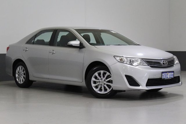 Used Toyota Camry ASV50R Altise, 2013 Toyota Camry ASV50R Altise Silver 6 Speed Automatic Sedan