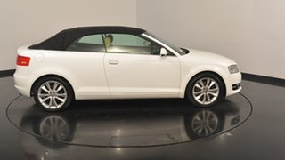 2011 Audi A3 8P MY12 Attraction S tronic White 7 Speed Sports Automatic Dual Clutch Convertible