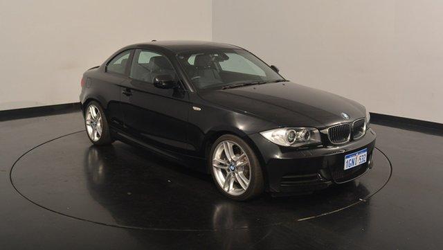 Used BMW 135I E82 MY10 Sport, 2010 BMW 135I E82 MY10 Sport Black 6 Speed Manual Coupe