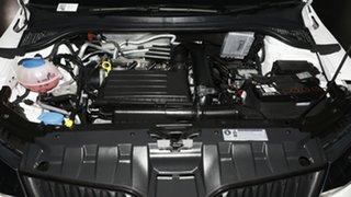 2017 Skoda Fabia NJ MY17 81TSI DSG Monte Carlo Candy White 7 Speed Sports Automatic Dual Clutch