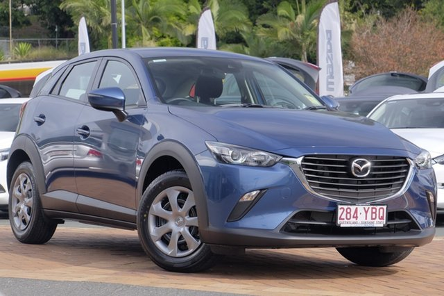 Demo Mazda CX-3 DK2W76 Neo SKYACTIV-MT, 2018 Mazda CX-3 DK2W76 Neo SKYACTIV-MT Eternal Blue 6 Speed Manual Wagon