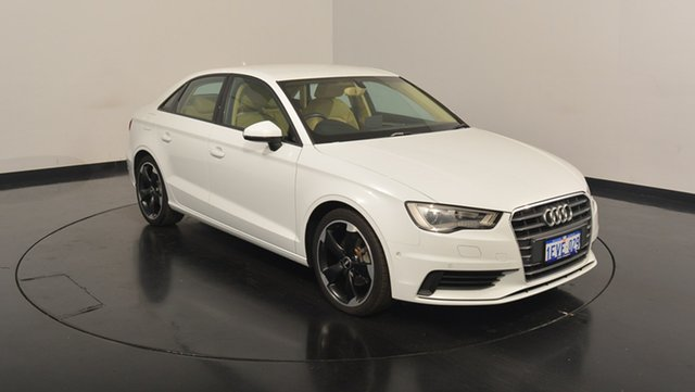 Used Audi A3 8V MY16 Attraction S tronic, 2015 Audi A3 8V MY16 Attraction S tronic White 7 Speed Sports Automatic Dual Clutch Sedan