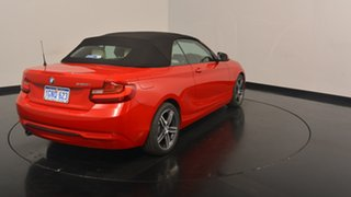 2015 BMW 220i F23 Sport Line Red 8 Speed Sports Automatic Convertible