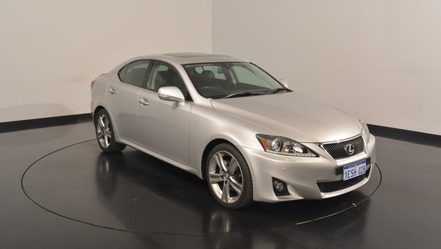 Used Lexus IS250 GSE20R MY13 X, 2013 Lexus IS250 GSE20R MY13 X Silver 6 Speed Sports Automatic Sedan