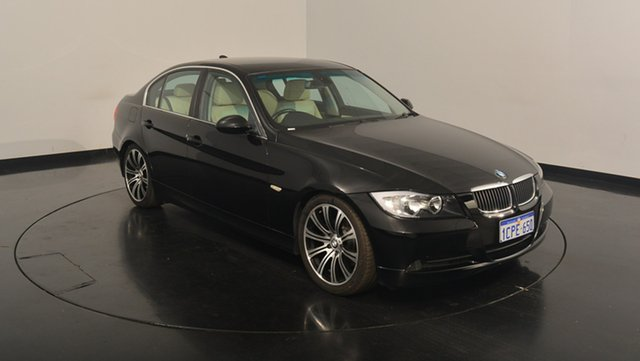 Used BMW 323I E90 Steptronic, 2007 BMW 323I E90 Steptronic Black 6 Speed Sports Automatic Sedan