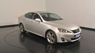 2013 Lexus IS250 GSE20R MY13 X Silver 6 Speed Sports Automatic Sedan