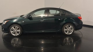 2013 Holden Cruze JH Series II MY14 SRi-V Green 6 Speed Sports Automatic Sedan.