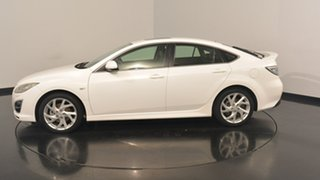 2012 Mazda 6 GH1052 MY12 Luxury Sports White 5 Speed Sports Automatic Hatchback.