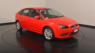 2007 Ford Focus LT Zetec Colorado Red 4 Speed Sports Automatic Hatchback