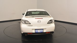 2012 Mazda 6 GH1052 MY12 Luxury Sports White 5 Speed Sports Automatic Hatchback