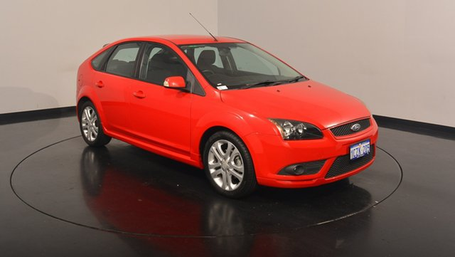 Used Ford Focus LT Zetec, 2007 Ford Focus LT Zetec Colorado Red 4 Speed Sports Automatic Hatchback