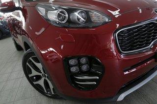 2018 Kia Sportage QL MY18 GT-Line AWD Fiery Red 6 Speed Sports Automatic Wagon.