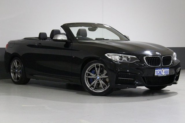 Used BMW 228I F23 MY17 M Sport, 2017 BMW 228I F23 MY17 M Sport Black 8 Speed Automatic Convertible