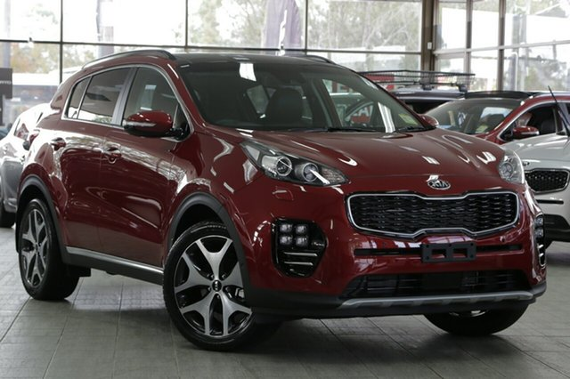 New Kia Sportage QL MY18 GT-Line AWD, 2018 Kia Sportage QL MY18 GT-Line AWD Fiery Red 6 Speed Sports Automatic Wagon