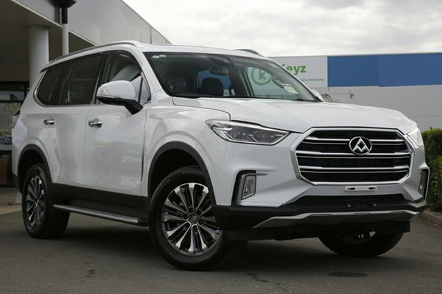 New LDV D90 SV9A Deluxe, 2018 LDV D90 SV9A Deluxe Blanc White 6 Speed Sports Automatic Wagon