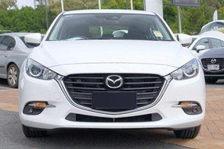 2018 Mazda 3 BN5478 Maxx SKYACTIV-Drive Sport White Pearl 6 Speed Sports Automatic Hatchback.
