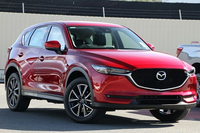 New Mazda CX-5 KF4WLA GT SKYACTIV-Drive i-ACTIV AWD Liverpool, 2021 Mazda CX-5 KF4WLA GT SKYACTIV-Drive i-ACTIV AWD Soul Red Crystal 6 Speed Sports Automatic Wagon