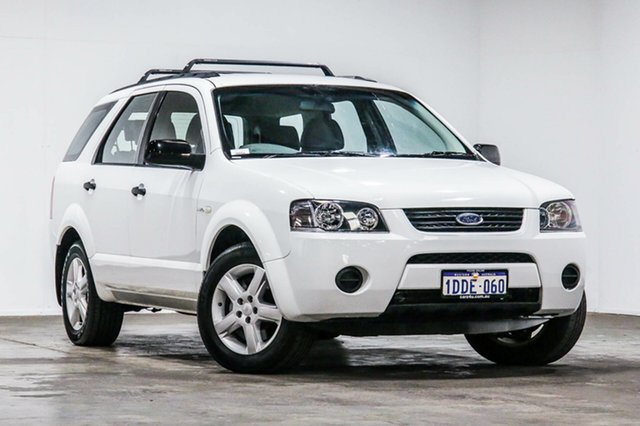 Used Ford Territory SY SR AWD, 2009 Ford Territory SY SR AWD White 6 Speed Sports Automatic Wagon