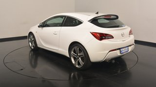 2013 Opel Astra AS GTC Sport White 6 Speed Sports Automatic Hatchback.