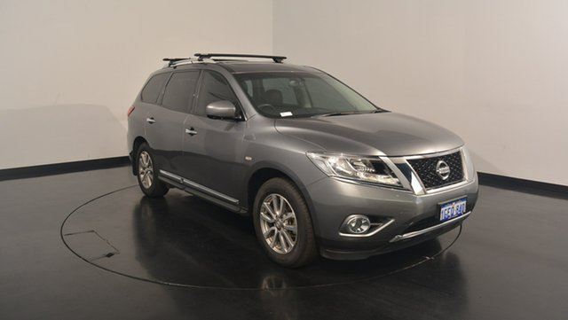 Used Nissan Pathfinder R52 MY15 ST-L X-tronic 4WD, 2016 Nissan Pathfinder R52 MY15 ST-L X-tronic 4WD Grey 1 Speed Constant Variable Wagon