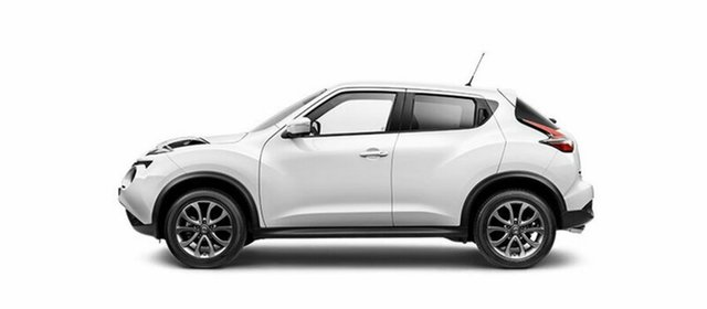 Demo Nissan Juke F15 Series 2 Ti-S X-tronic AWD, 2018 Nissan Juke F15 Series 2 Ti-S X-tronic AWD Ivory Pearl 1 Speed Constant Variable Hatchback