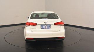 2017 Kia Cerato YD MY17 S Clear White 6 Speed Sports Automatic Sedan