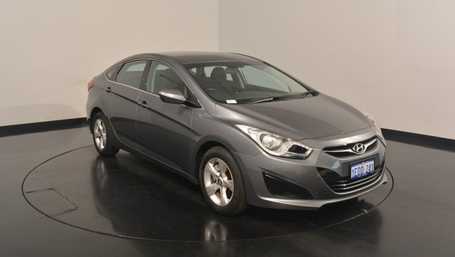 Used Hyundai i40 VF2 Active, 2014 Hyundai i40 VF2 Active Titanium Silver 6 Speed Sports Automatic Sedan