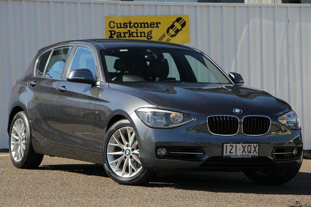 Used BMW 118i F20 , 2013 BMW 118i F20 Grey 8 Speed Sports Automatic Hatchback
