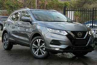 2019 Nissan Qashqai J11 Series 2 ST-L X-tronic Gun Metallic 1 Speed Constant Variable Wagon.