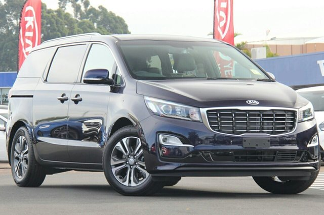 New Kia Carnival YP MY20 SLi, 2020 Kia Carnival YP MY20 SLi Deep Chroma Blue 8 Speed Sports Automatic Wagon
