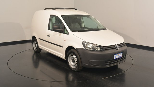 Used Volkswagen Caddy 2KN MY15 TSI160 SWB Runner, 2015 Volkswagen Caddy 2KN MY15 TSI160 SWB Runner White 5 Speed Manual Van