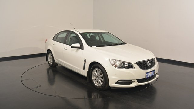 Used Holden Commodore VF MY15 Evoke, 2015 Holden Commodore VF MY15 Evoke White 6 Speed Sports Automatic Sedan