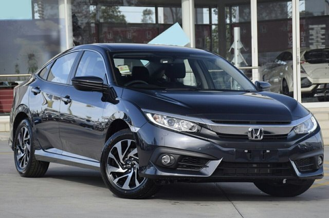 New Honda Civic 10th Gen MY18 VTi-S, 2018 Honda Civic 10th Gen MY18 VTi-S Cosmic Blue 1 Speed Constant Variable Sedan