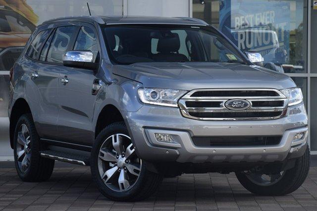 New Ford Everest UA MY18 Titanium, 2018 Ford Everest UA MY18 Titanium Aluminium 6 Speed Sports Automatic SUV