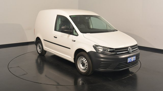 Used Volkswagen Caddy 2KN MY16 TSI160 SWB Runner, 2016 Volkswagen Caddy 2KN MY16 TSI160 SWB Runner White 5 Speed Manual Van