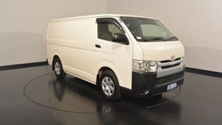2016 Toyota Hiace KDH201R LWB White 5 Speed Manual Van